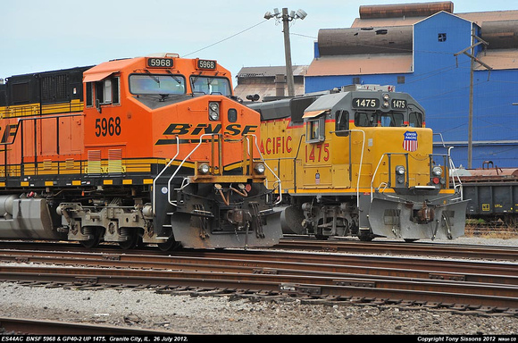 Tony Sissons DetailFoto   Sissons Train Pix - Not All That