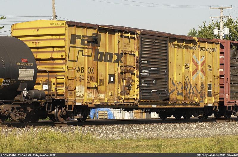 Types If Cars >> Tony Sissons DetailFoto | RailBox Cars | Box Car ABOX50516